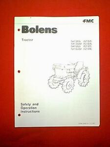 bolens iseki diesel tractor models g152 g154 g172 g174 owner rh ebay com