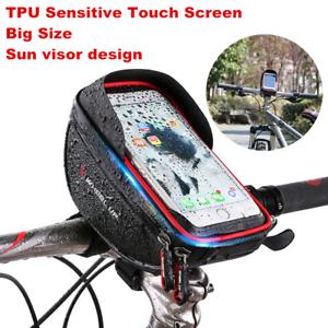 Motorcycle-Bike-Handlebar-Holder-Mount-Waterproof-Bag-Case-for-Mobile-Phone-GPS