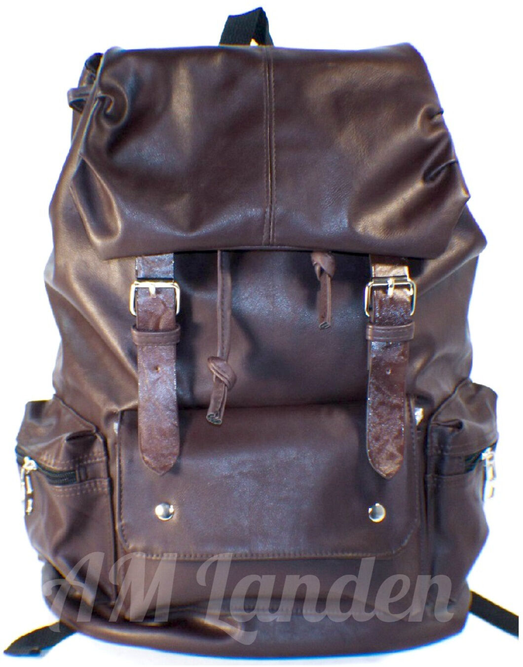 AM Landen Super Cute PU Backpacks Available in 4 Colors Large Size