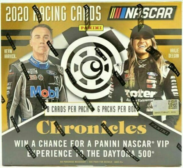 2020 Panini Chronicles Nascar pasatiempo caja 3 Autos