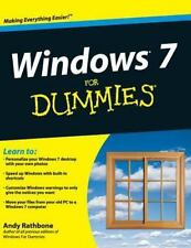 Windows 7 for Dummies: By Rathbone, Andy