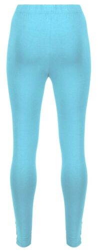 Mudd /& Water Womens Leggings Organic Cotton Air Blue
