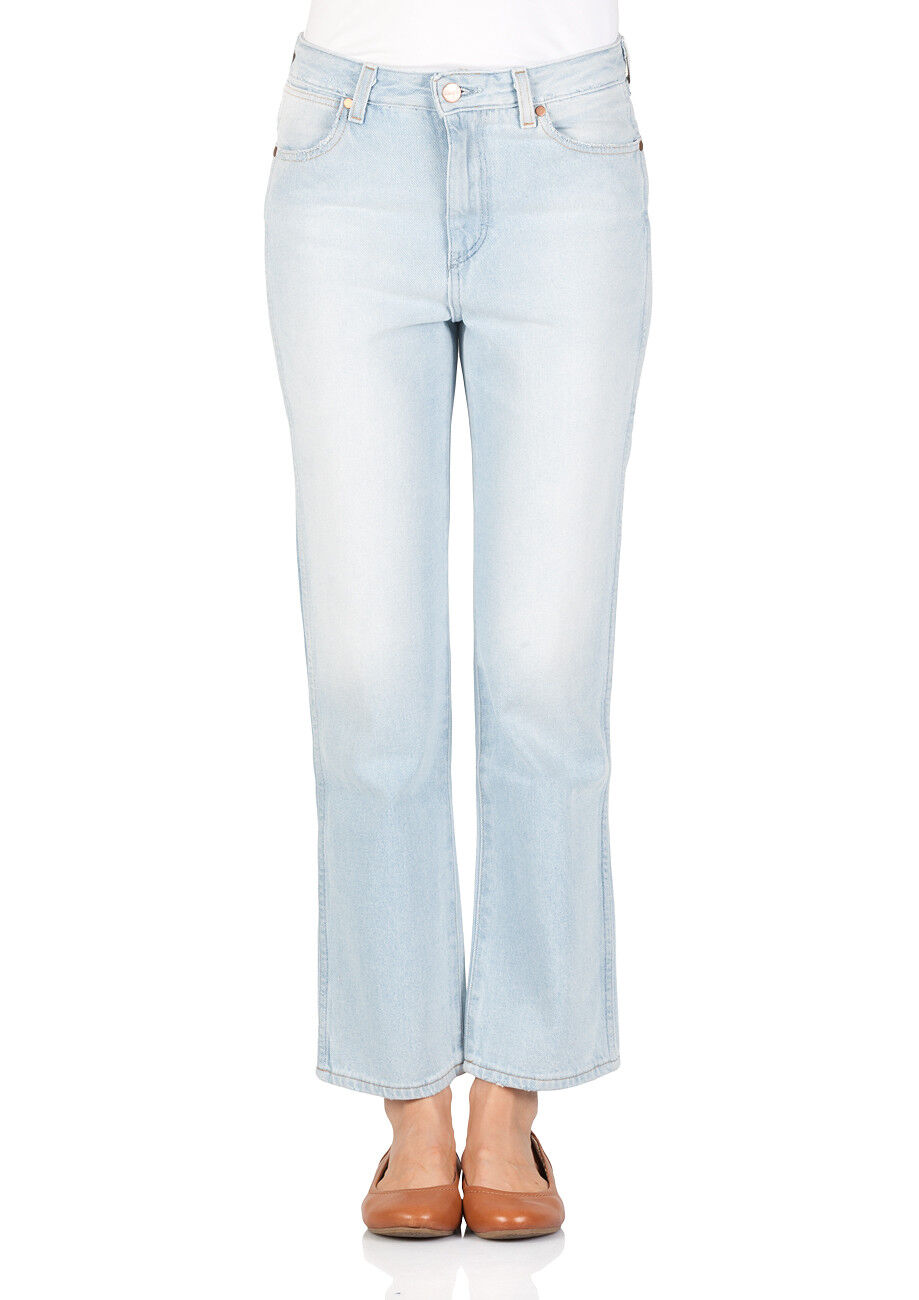 Wrangler Damen Jeans Retro Straight - Straight Fit - Blau -  B&Y Chilled