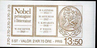 Schweden Mh 110 ** Nobelpreisträger Clear-Cut-Textur 423012