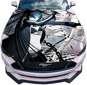Black Rock Shooter Anime coche decal sticker 003