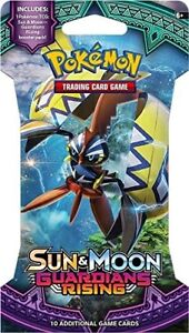 Pokemon 10 Card Booster Pack -NEW!! TCG: Guardians Rising