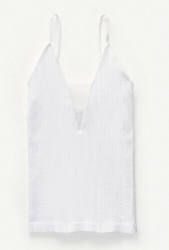 NEW Free People Intimately Come Around Cami Tank Top in White Sz XS//S-M//L $51.68