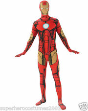 The Avengers Iron Man 2nd Skin Costume Marvel Comics Adult Size Large NWT Rubies