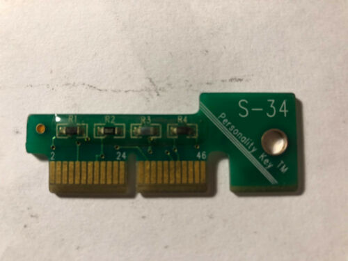 Snap-on S-34 Solus Pro OBDII MT2500 Ethos Modis Verus Personality Key