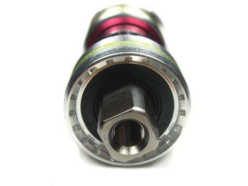 OMNI Racer Ti Ceramic JIS Steel Square Taper Bottom Bracket 68x110mm ENGLISH