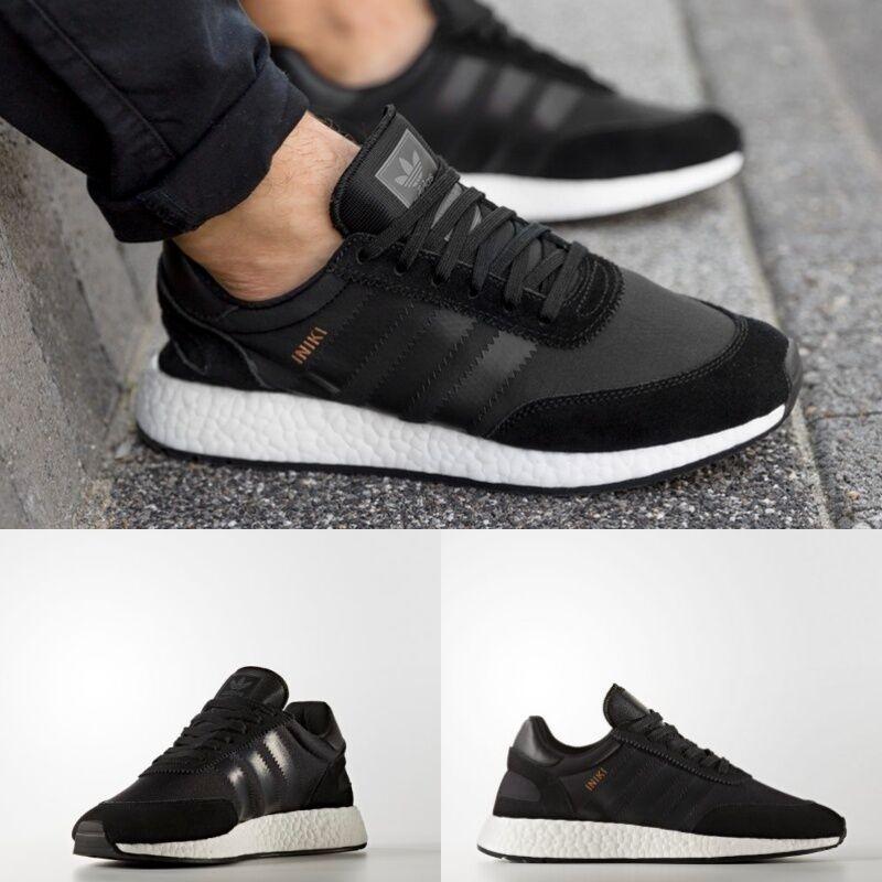 Adidas Unisex Original INIKI Runner Black Black White BB2100 Men Women NIB NEW