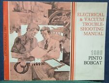 1980 Pinto Bobcat Electrical and Vacuum Troubleshooting Manual 80 Ford Mercury