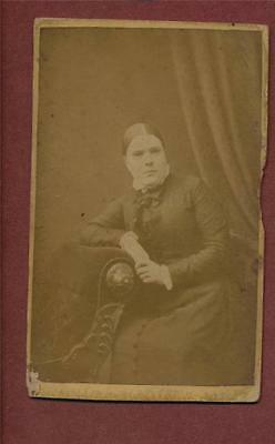 'Jess Howlett' 1846 - 1920   Family History Surname CDV photograph qe.51