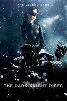 Batman The Dark Knight Rises Catwoman Cycle 27x39 Movie Poster Anne Hathaway