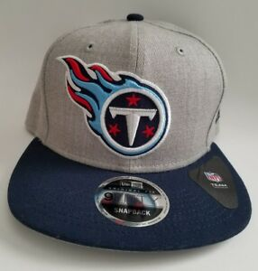 purchase cheap 54bdb 3df49 Image is loading Tennessee-Titans-New-Era-Heather-Grand-Grey-Wool-