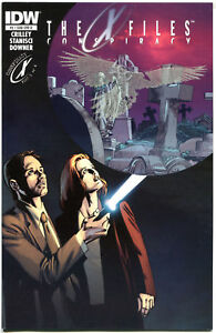 X-FILES-Conspiracy-1-VF-Fox-Mulder-Crow-Glow-in-dark-2014-more-XF-in-store