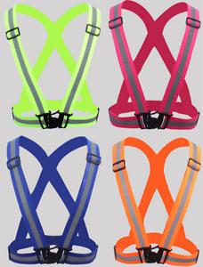 Alta-Visibilidad-Chaleco-High-Vis-Seguridad-reflectante-Cinturon