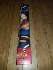 Details About Dc Comics Superman Returns Graffix Icons Wallpaper New Very Rare Collectable 1w