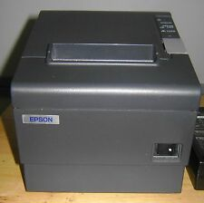EPSON TM-T88IV THERMAL RECEIPT PRINTER MODEL M129H - SERIAL PORT - NO AC ADAPTER