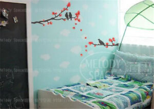 Red-leaves-Home-Decor-Removable-Wall-Stickers-Decal-Decoration-Vinyl-Mural