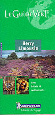 Le Guide Vert (Berry Limousin), , Very Good Book
