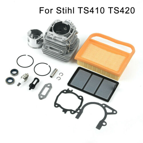 TS410 Carburetor Parts Group Cylinder Piston Accessories Tools For Stihl TS420