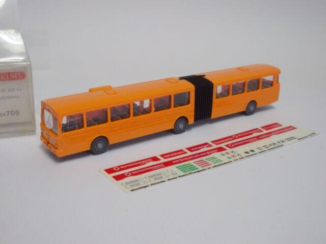 Wiking 1:87  24705 Mercedes O 305 G Gelenkbus ,Neu in Ovp.(S604)