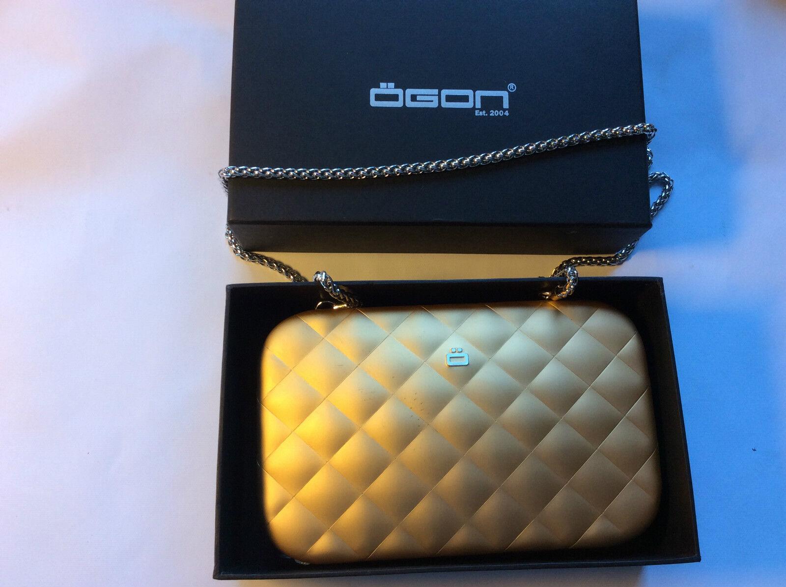 Ögon Design Quilted lady bag gold