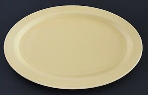 Vernon-Kilns-Early-California-Platter-Yellow-Oval-Serving-Plate-Made-in-USA