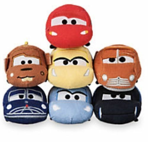 US Disney Cars 3 Mini Tsum Tsum Complete Set Of 7 NWT! Lightning McQueen Mater