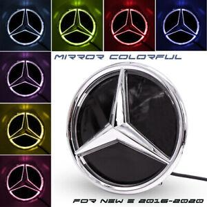 Mirror Car Led Logo Emblem Grille Light For Mercedes-Benz W213 E Class 2016-2020