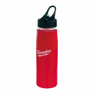 Milwaukee-600ml-water-bottle-Red-with-Logo-collector-item