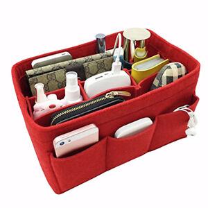 Women-Handbag-Organizer-Bag-Purse-Insert-Bag-Felt-Multi-Pocket-Tote-Useful-Bag