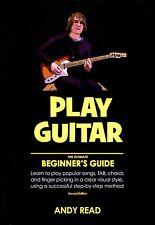 Aprende a jugar Principiantes Guitarra Acústica Eléctrica libro para niños niños