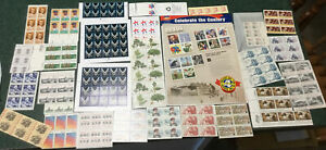 Huge Lot Stamp Sheet Sets All In Pic Included