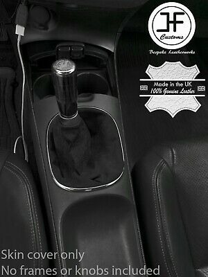 Skin Only Fits 2002-2006 Acura RSX Real Black Leather Manual Shift Boot