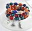 Boho-Multilayer-Natural-Stone-Bead-Tassel-Pendant-Chain-Bracelet-Charm-Women-Set thumbnail 41