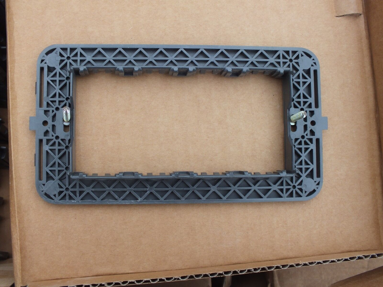 Vimar Idea 16714 Support Frame 4M Gray Free Shipping