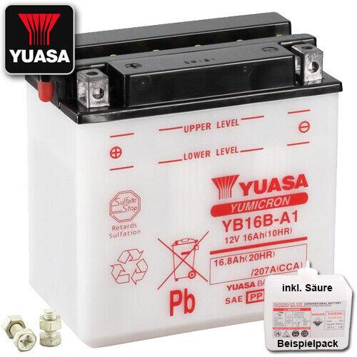 Batería suzuki vs750 GLF GLP Intruder vr51b año 1986 Yuasa yb16b-a1