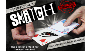 Magic Tricks,Mentalism,Illusion Gimmick+online instruct SNITCH by Peter Eggink