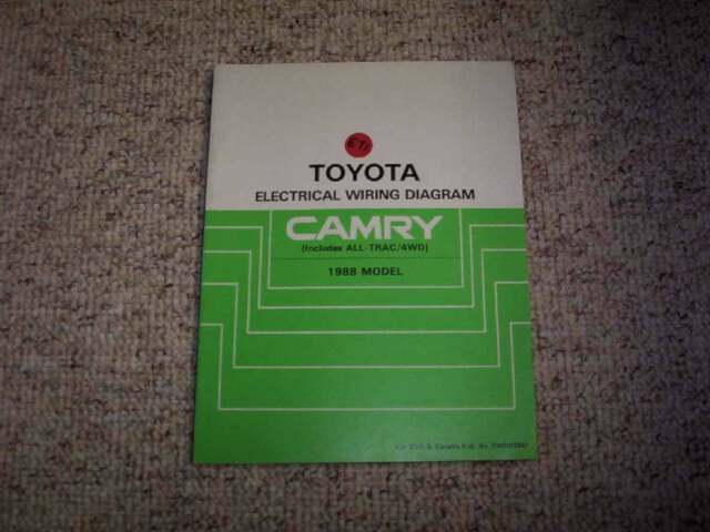 1982 Toyota Corolla Electrical Wiring Diagram Manual Le Dx