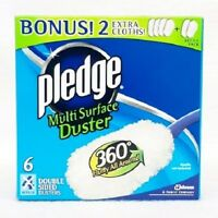 Pledge Muti-surface Duster 360 Fluffy All Around Double Sided Dusters Refills