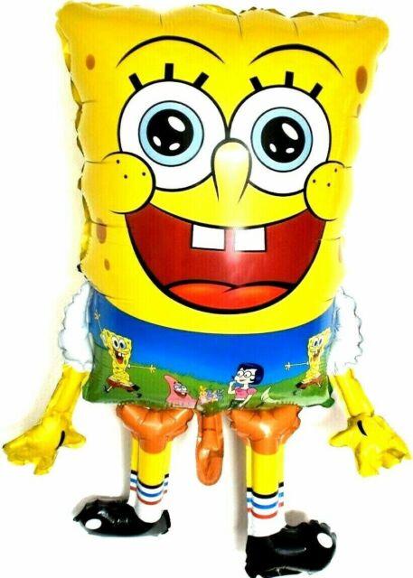 Folienballon SpongeBob Leuchtend Musik Heliumballon Luftballon Kindergeburtstag