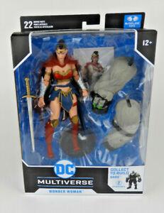 McFarlane Toys Wonder Woman DC Multiverse Batman Last Knight on Earth (BANE BAF)