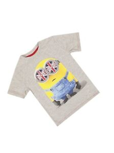 91914286a Image is loading Official-Licensed-Boys-or-Girls-Grey-Minions-Invasion-