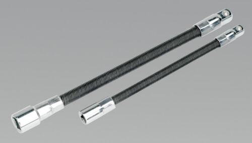 Sealey AK7341 Rallonge Flexible Ensemble D/'Adaptateur 2pièces 0,6cm Sq X 150 mm