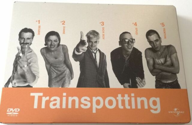 TRAINSPOTTING ED.SPECIALE STEELBOOK FILM DVD ITALIANO SPED GRATIS SU + ACQUISTI