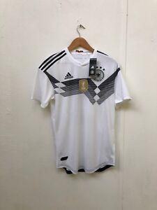d6b79575975 adidas Germany Football Mens 2018 WC ClimaChill Home Shirt- Medium ...