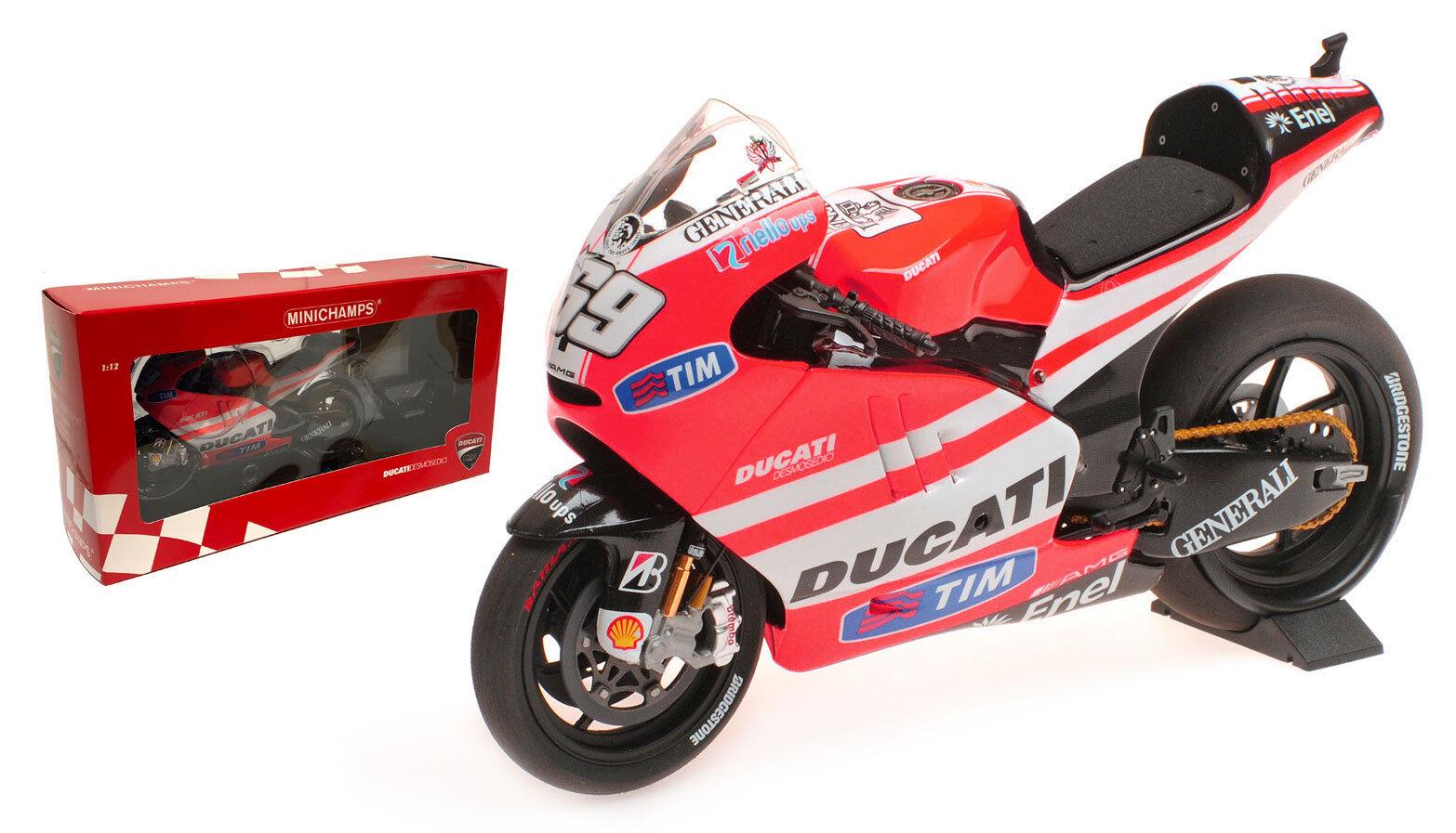 Minichamps Ducati Desmo GP11.1  DUCATI  MotoGP 2011-Nicky Hayden escala 1 12