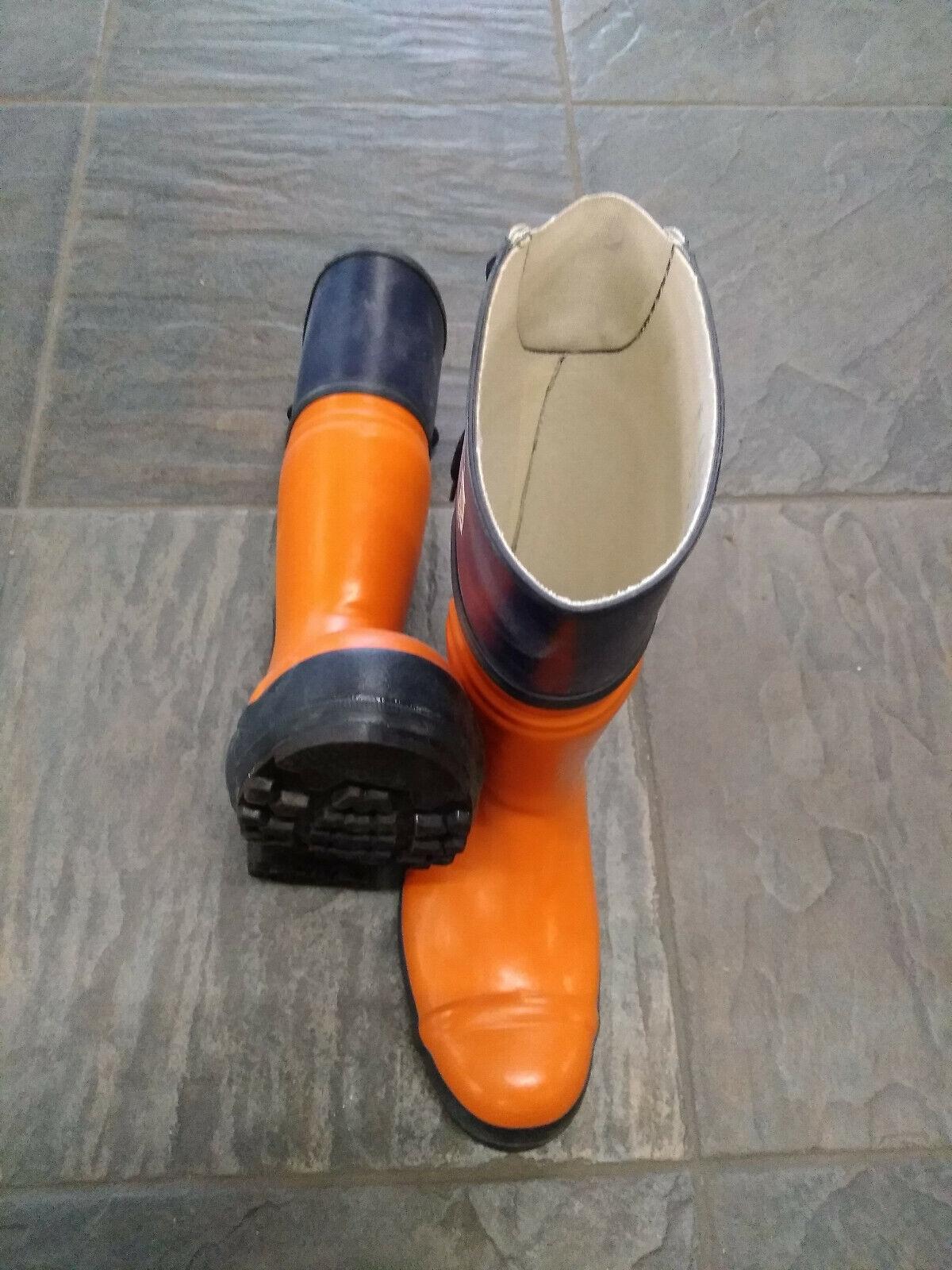 Oregon Yukon Schnittschutz-Gummistiefel Gr.44 Schnittschutzgummistiefel Stiefel